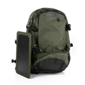 Solar backpack in military green