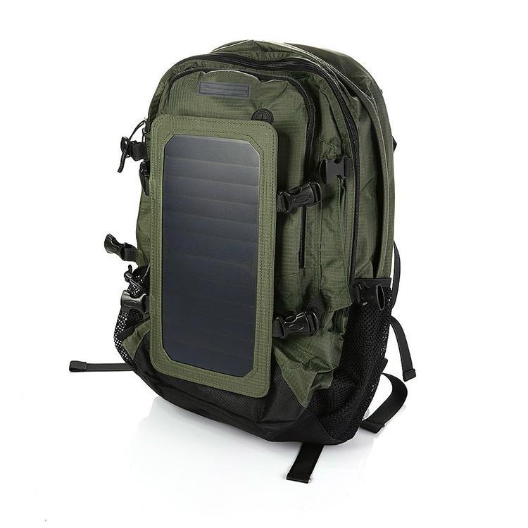 露营/远行运动太阳能充电背包 2