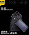 Waterproof Solar Backpack bag for Ipods
