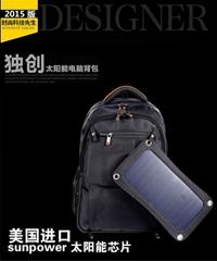 防水太陽能背包充電器,專充蘋果系列