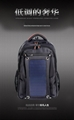 Waterproof Solar Backpack for charge to all kinds of mobile device for outdoor