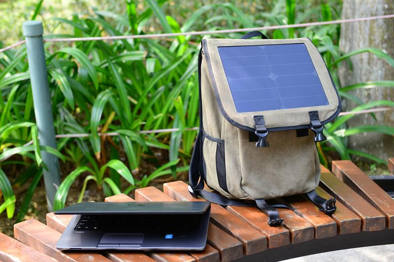 Business Canvas Solar Power Charger Bag 9