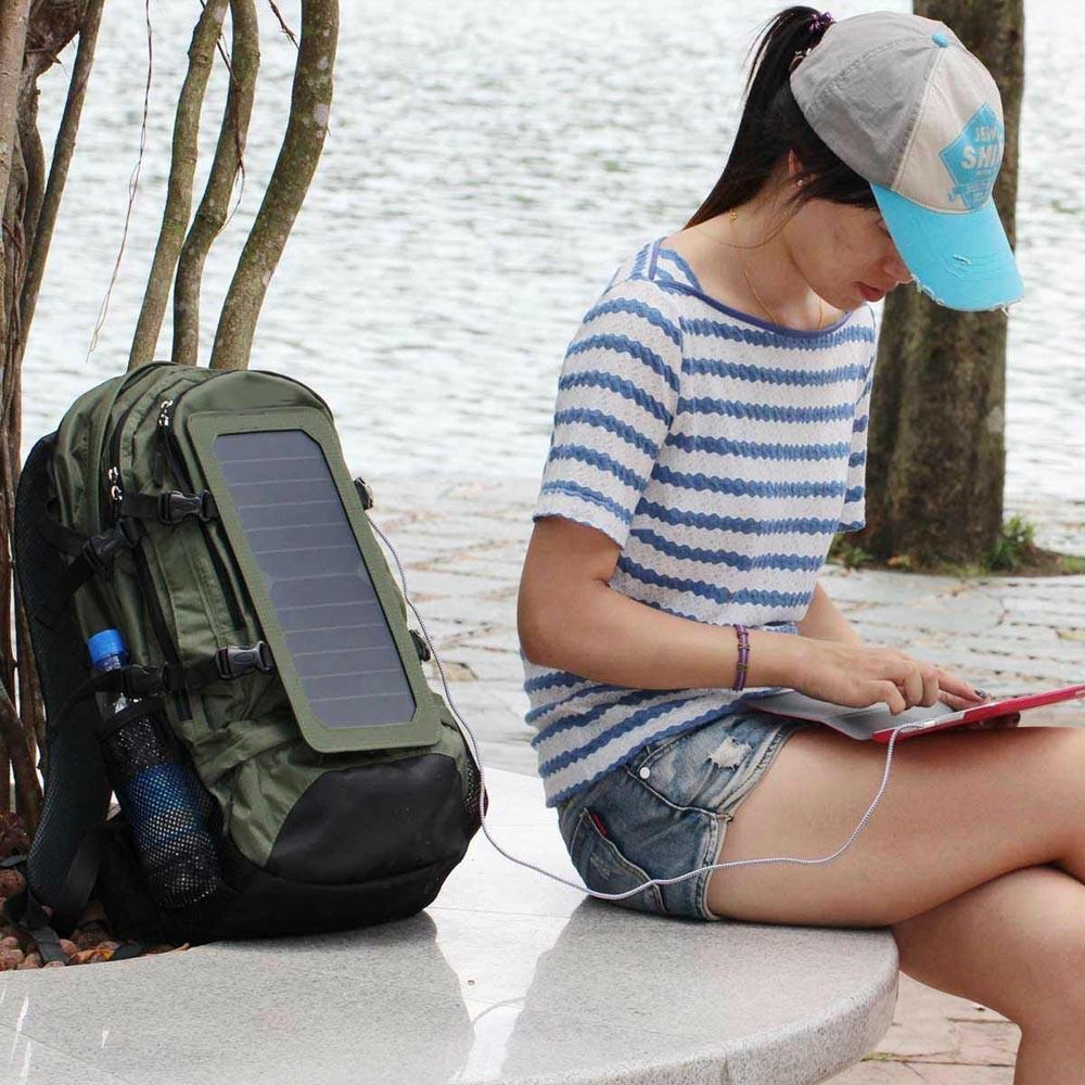露营/远行运动太阳能充电背包 8