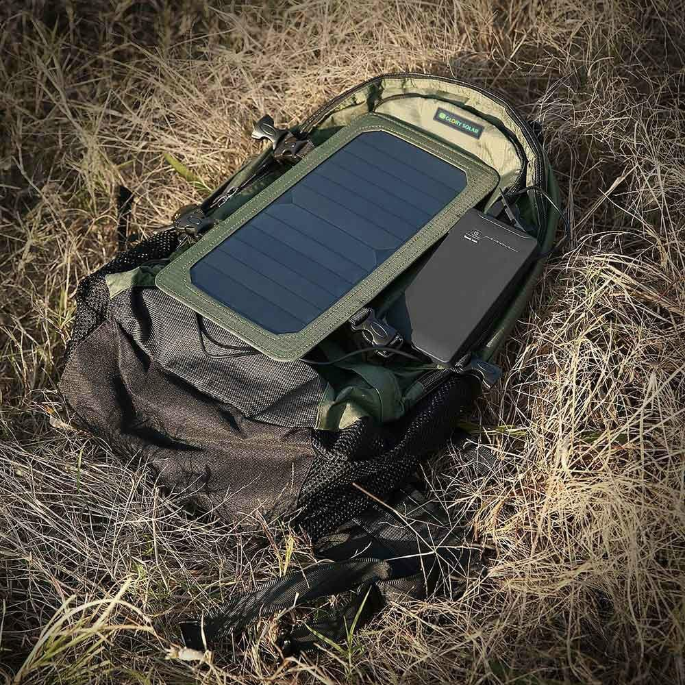 Camping Hiking Sport Solar Panel Backpack  9
