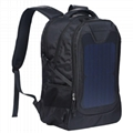Solar backpack for hiking, camping,