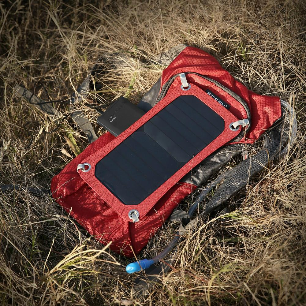 Solar backpack with water cup 10