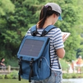 2017 New fashion portable solar backpack with 10W Solar Panel 7