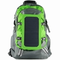 7W solar backpack charger for mobile