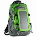 7W solar backpack charger for mobile device