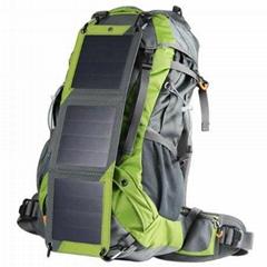 10W  太阳能登山背包充电器