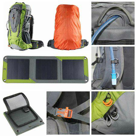 10W Solar hiking backpack with Sunpower cell 3