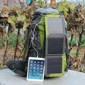10W Solar hiking backpack with Sunpower cell 4