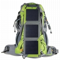 10W Solar hiking backpack with Sunpower cell 7