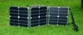 40W folding solar panel for outdoor activities