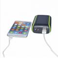 Hand Crank Solar Charger universal 5400mah solar powerbank 2
