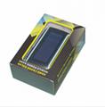Hand Crank Solar Charger universal 5400mah solar powerbank 4