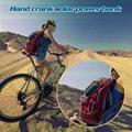 Hand Crank Solar Charger universal 5400mah solar powerbank 5