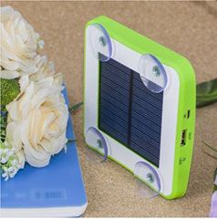 portable solar mobile phone charger 1800mah 2600mah 5200mah Square Suckers Style (Hot Product - 1*)