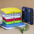 portable solar mobile phone charger 1800mah 2600mah 5200mah Square Suckers Style