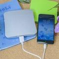 portable solar mobile phone charger 1800mah 2600mah 5200mah Square Suckers Style 6