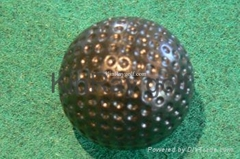 Low bounce putt golf ball