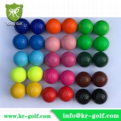 2-Piece Colored Golf balls /Colorful driving range golf ball