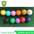 Standard Mini golf balls and Low bounce mini Golf Balls  1