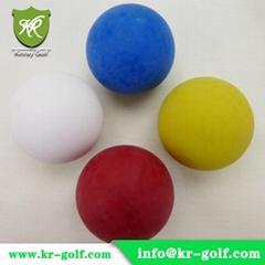 Glatter Golf ball  for Mini Golf or  lackierte Qualitätsbälle