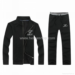 2014 men track suit with high quality