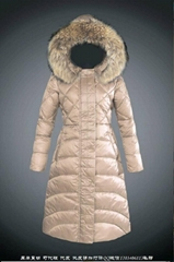 wholesale down garment women down coats with big collar fur