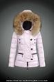 wholesale brand women down jacket with raccoon fur 1