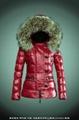 wholesale brand women down jacket with raccoon fur 3