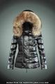 wholesale brand women down jacket with raccoon fur 4