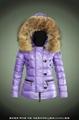 wholesale brand women down jacket with raccoon fur 2