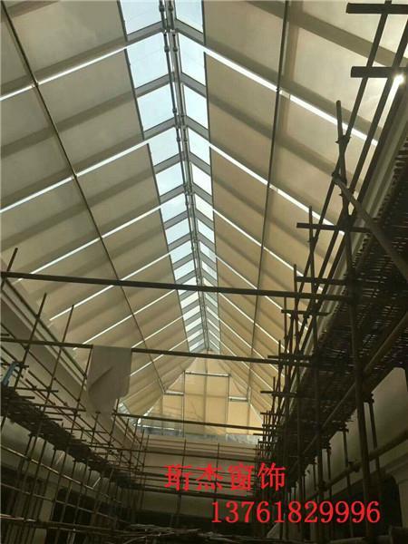 上海电动天棚卷帘窗帘 3
