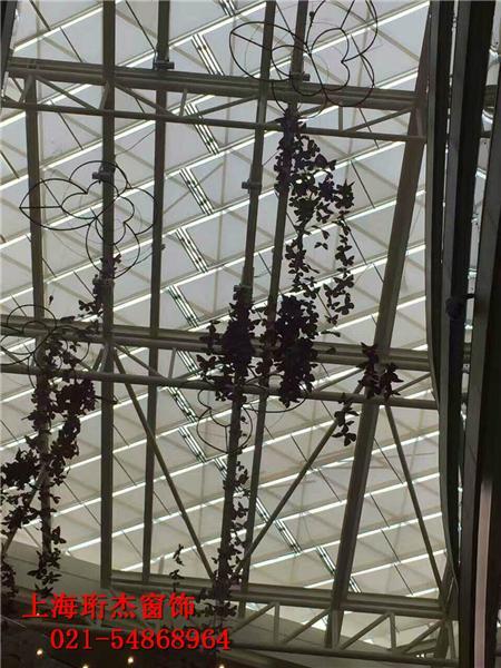 上海电动天棚卷帘窗帘 5
