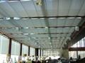 电动双轨道折叠天棚帘 1