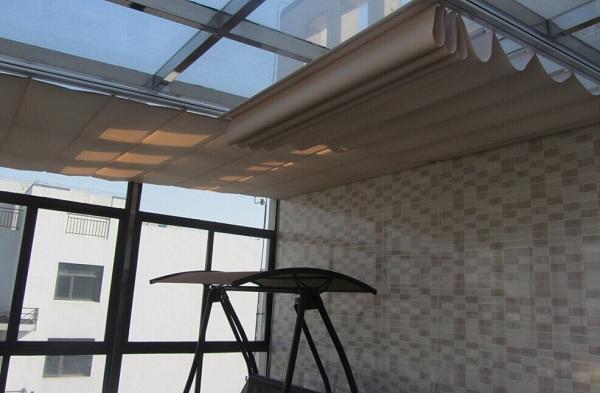 阳光房顶棚遮阳天棚帘 1