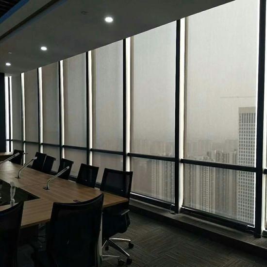 上海电动遮阳卷帘窗帘 1