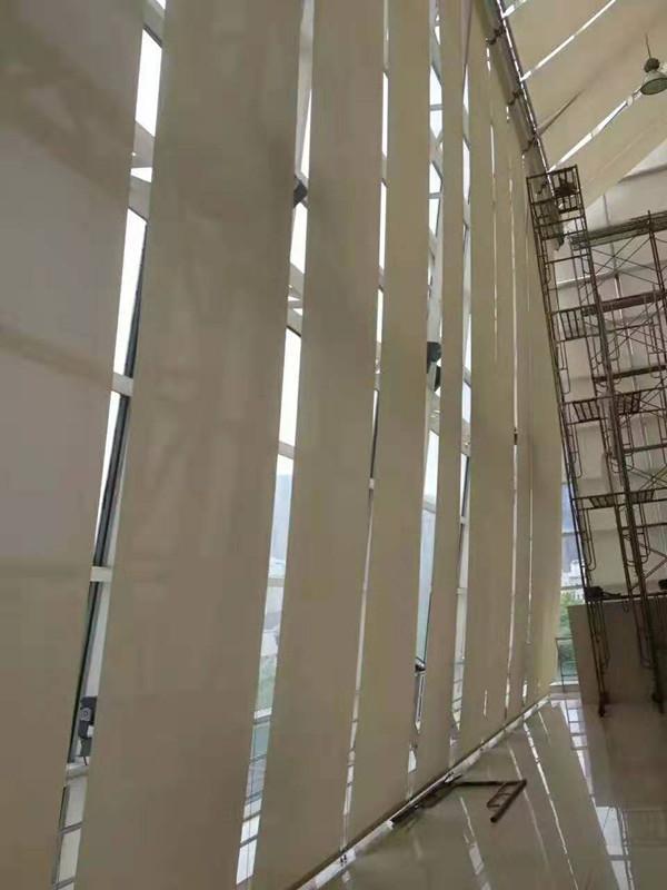 上海电动遮阳卷帘窗帘 2