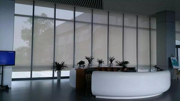 上海电动遮阳卷帘窗帘 5
