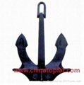 Marine Hall anchor Stockless anchor