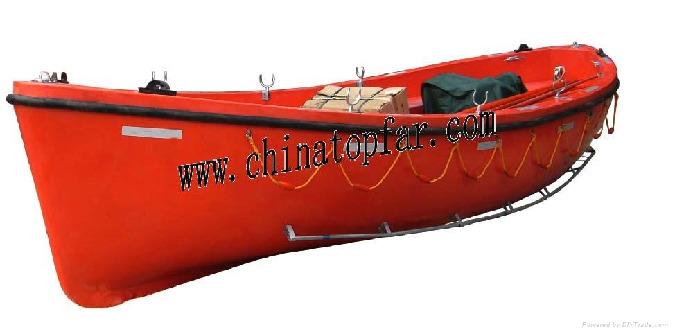 Open type lifeboat in FRP 3