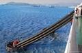 Liferaft personnel transfer basket marine evacuation chute
