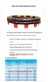 Open reversible marine liferaft SOLAS approved