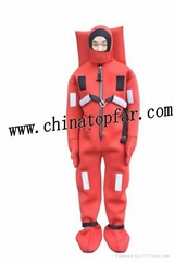 Immersion suit Marine MED approved immersion suit