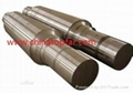 Ship rudder system Rudder blade Rudder stock Rudder shaft Rudder carrier