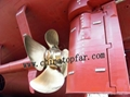 Rudder blade Marine rudder stock Rudder shaft Rudder carrier Rudder horn