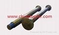 Marine propeller shaft, rudder shaft,