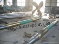 Ship propeller shaft, rudder shaft, stern shaft,Forged shaft Tail shaft